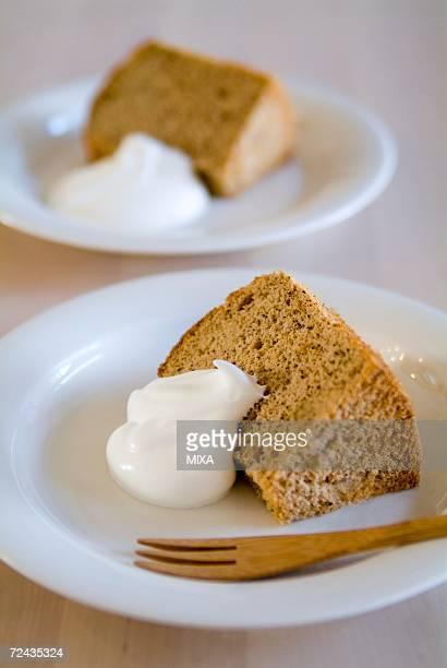 Tea chiffon cake