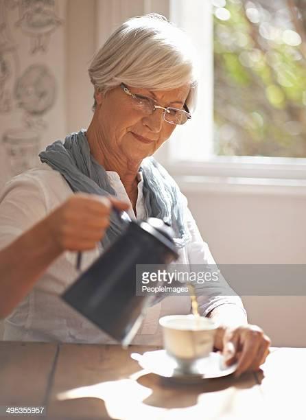 Tea: comfort in a cup