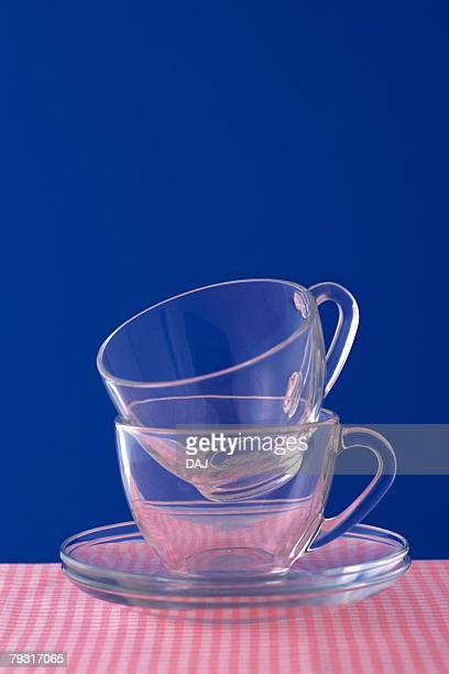 Tea cup That is Piled