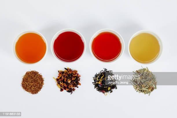 tea drink hot cold teabag - 温かいお茶 ストックフォトと画像