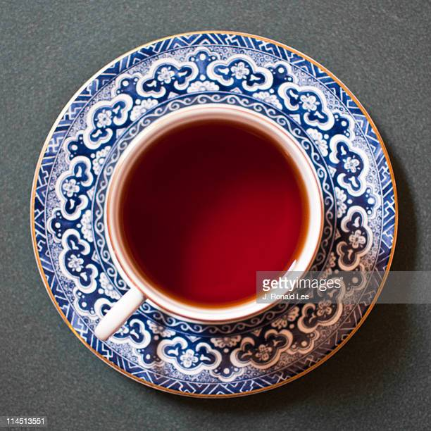 tea for one - saucer stock pictures, royalty-free photos & images