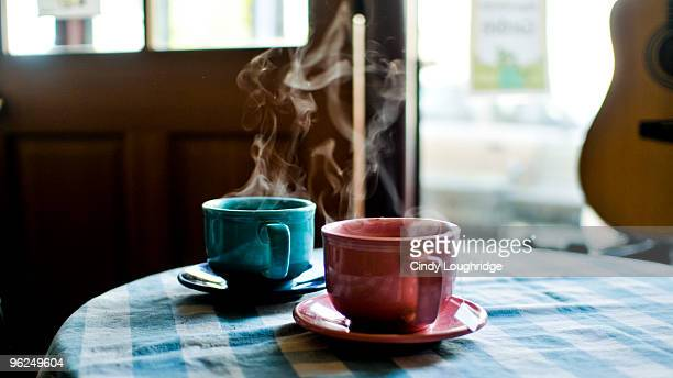 tea for two - tea cup stock pictures, royalty-free photos & images