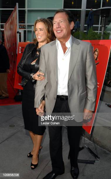 Tea Leoni and Garry Shandling during 'You Kill Me' Los Angeles Premiere Red Carpet at ArcLight Hollywood in Hollywood California United States