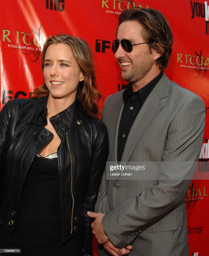 Tea Leoni and Luke Wilson during 'You Kill Me' Los Angeles Premiere - Red Carpet at ArcLight Hollywood in Hollywood, California, United States.