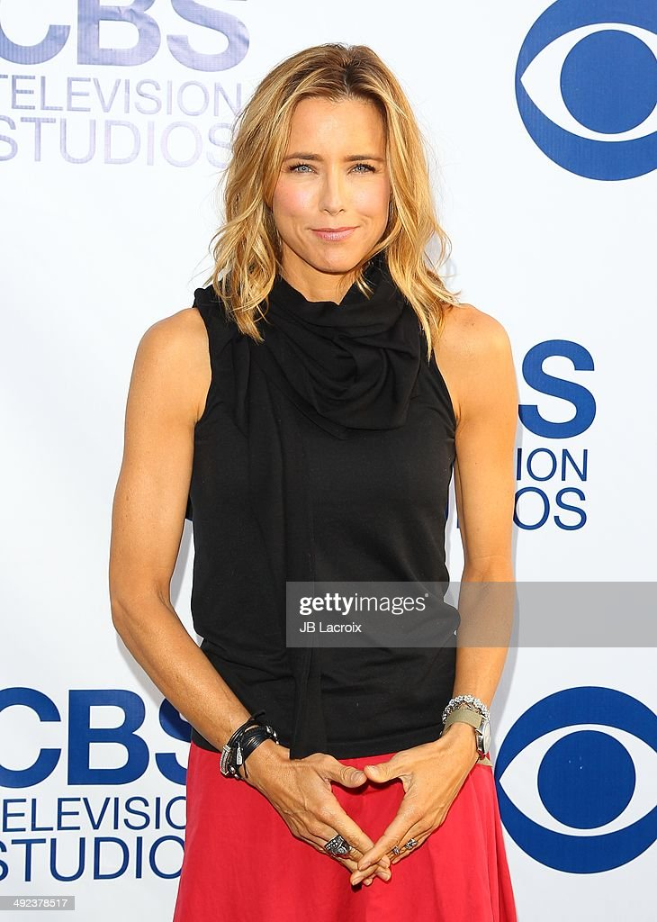 Tea Leoni arrives at the CBS Summer Soiree at The London West Hollywood on May 19, 2014 in West Hollywood, California.