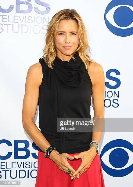 Tea Leoni arrives at the CBS Summer Soiree at The London West Hollywood on May 19 2014 in West Hollywood California
