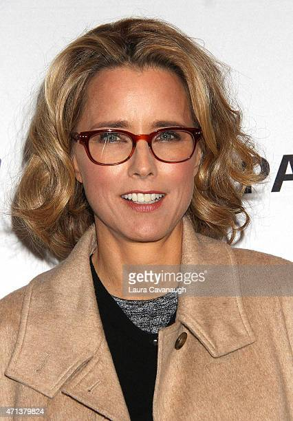 Tea Leoni attends The Paley Center For Media Presents An Evening With 'Madame Secretary' at Paley Center For Media on April 27 2015 in New York City