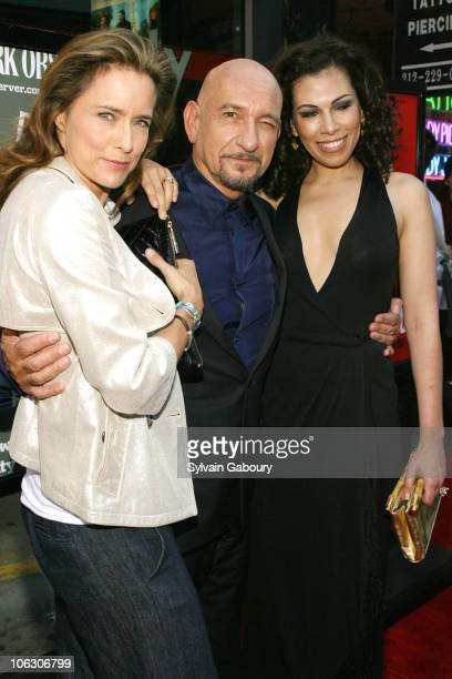Tea Leoni Ben Kingsley and Daniella Lavender during You Kill Me New York City Premiere Arrivals at IFC Center at 323 Sixth Avenue in New York City...