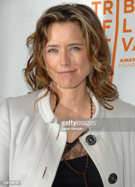 Tea Leoni during 6th Annual Tribeca Film Festival 'You Kill Me' Arrivals at Clearview Chelsea West in New York City New York United States