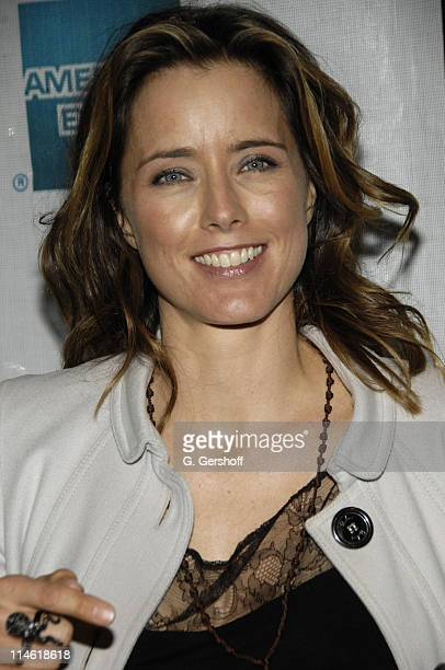 """Tea Leoni during 6th Annual Tribeca Film Festival - """"You Kill Me"""" Premiere - Inside Arrivals at Clearview Chelsea West Cinemas in New York City, New..."""