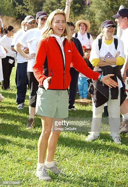Tea Leoni during 8th Annual Expedition Inspiration TakeAHike at Paramount Ranch in Agoura California United States