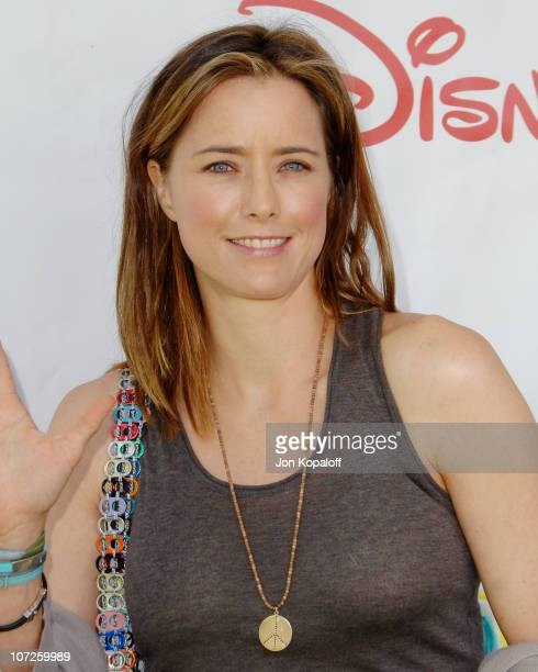 Tea Leoni during A Time For Heroes Sponsored by Disney to Benefit the Elizabeth Glaser Pediatric AIDS Foundation Arrivals at Wadsworth Theater in...