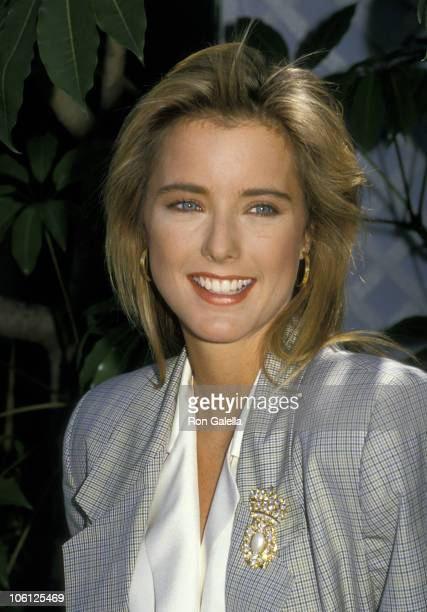 Tea Leoni during Angels '88 Fox Press Conference with Tea Leoni Karen Kopins Sandra Canning and Claire Yarlett at KTTV Studios in Los Angeles...