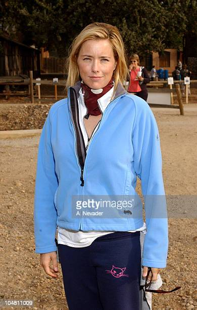 Tea Leoni during Expedition Inspiration 'TakeAHike' Benefit for Breast Cancer Research at Paramount Ranch in Malibu California United States