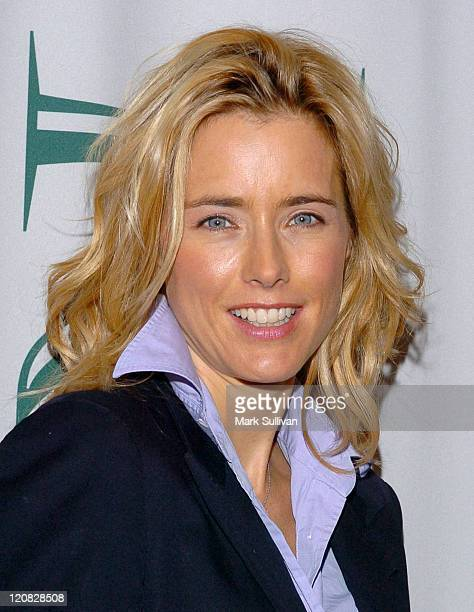 Tea Leoni during Privé Salons 'CutForACure' at Prive Salon in Los Angeles California United States