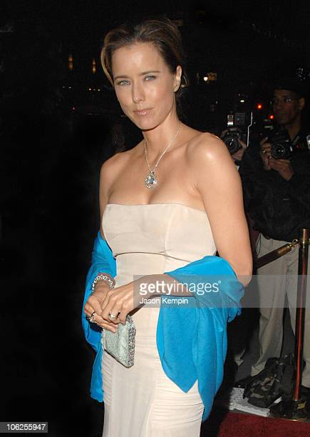 Tea Leoni during The Third Annual UNICEF Snowflake Ball November 28 2006 at Cipriani's 42nd Street in New York City New York United States