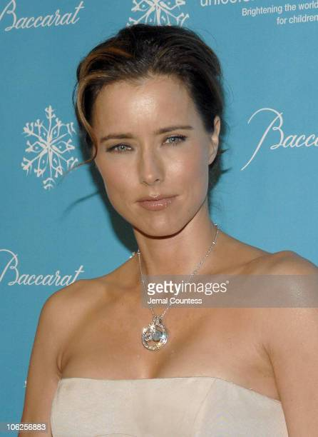 Tea Leoni during Third Annual UNICEF Snowflake Ball Arrivals at Cipriani's in New York City New York United States