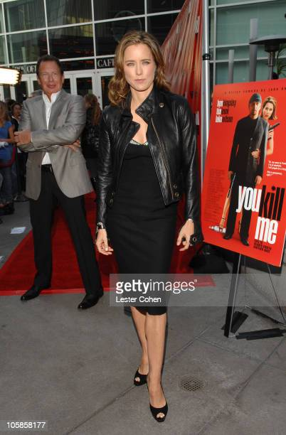 Tea Leoni during 'You Kill Me' Los Angeles Premiere Red Carpet at ArcLight Hollywood in Hollywood California United States
