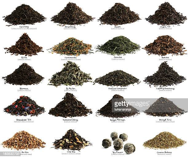 tea party. xxl - tea leaves stock photos and pictures