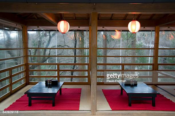 A tea room at Kiyomizudera known more fully as Otowasan Kiyomizudera an independent Buddhist temple in eastern Kyoto The temple is part of the...