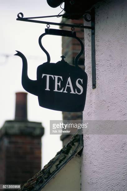 Tea Room Sign