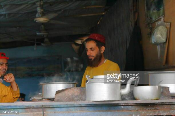 Tea Seller In Balakot City