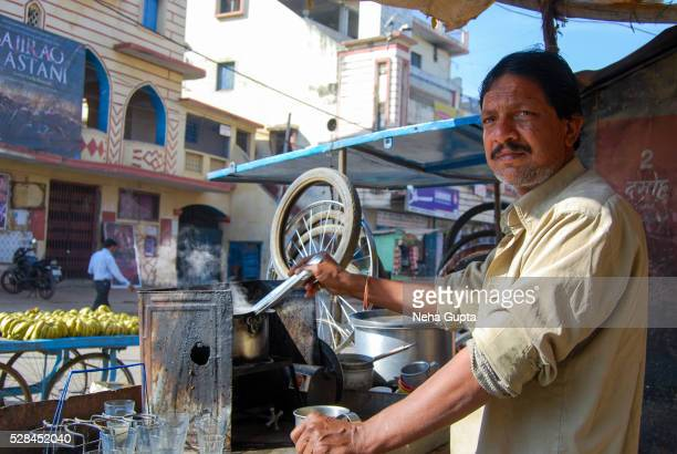 tea seller - sturbridge stock photos and pictures