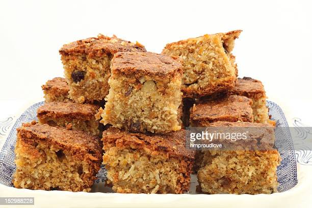 tea time cake - carrot cake stock pictures, royalty-free photos & images