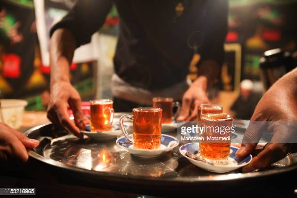 tea time - iranian culture stock pictures, royalty-free photos & images