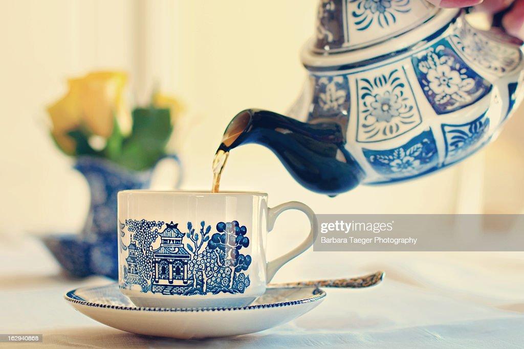Tea Time : Stock Photo