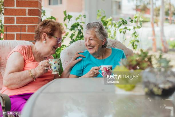 tea time with friends - independence stock pictures, royalty-free photos & images