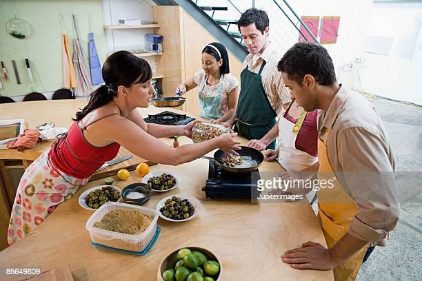 Teacher browning cashews