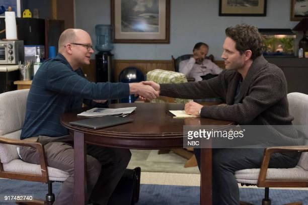 AP BIO 'Teacher Jail' Episode 104 Pictured Mark Proksch as Philip Glenn Howerton as Jack Griffin