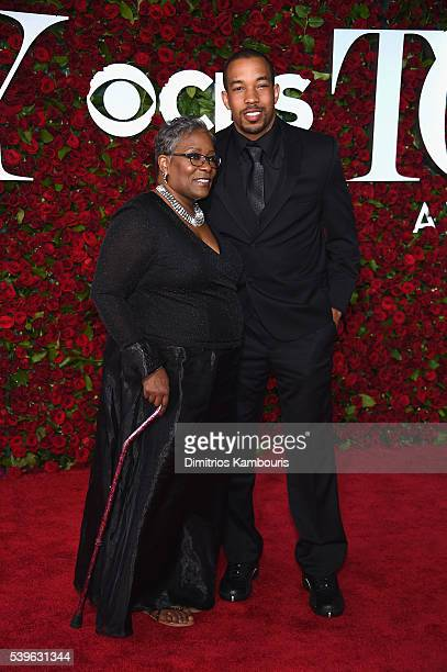 Teacher Marilyn McCormick attends the 70th Annual Tony Awards at The Beacon Theatre on June 12 2016 in New York City