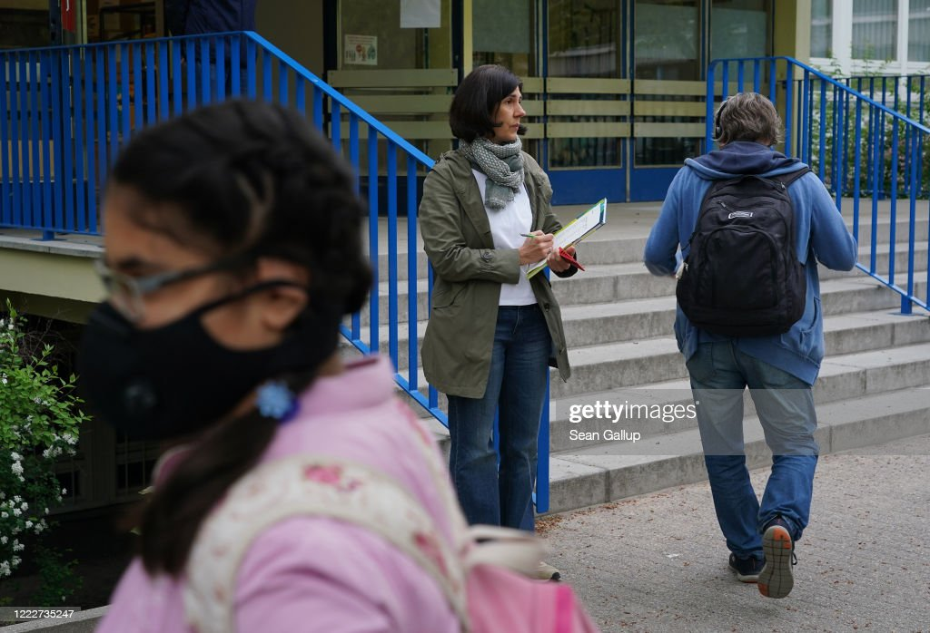 Schools Continue To Reopen As Lockdown Measures Ease : News Photo