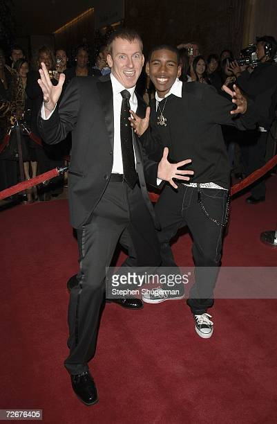 Teacher Ron Clark and actor Brandon Smith attend the 8th Annual Family Television Awards at the Beverly Hilton Hotel on November 29 2006 in Beverly...