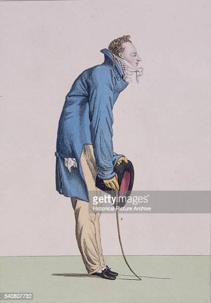 Teacher Stands With a Stoop 1811