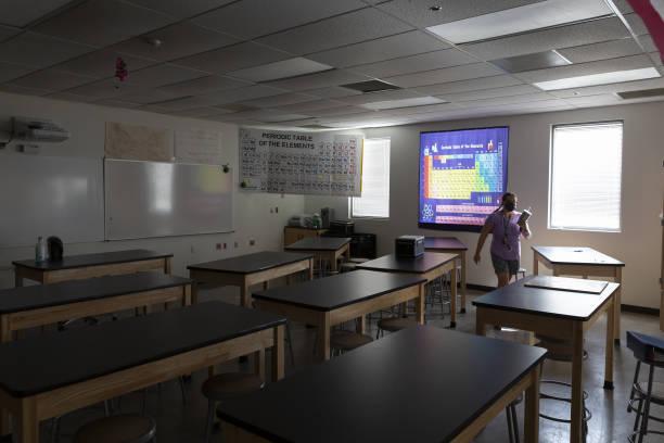 AZ: Arizona Schools Prepare Ahead Of Opening Day Amid Pandemic