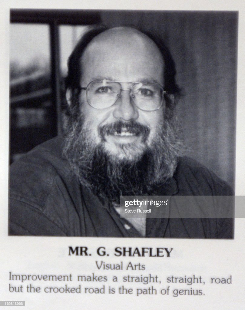 TEACHER5-2/26/2001---Greg Shafley was a high school art teacher, until he resigned while being inves : News Photo