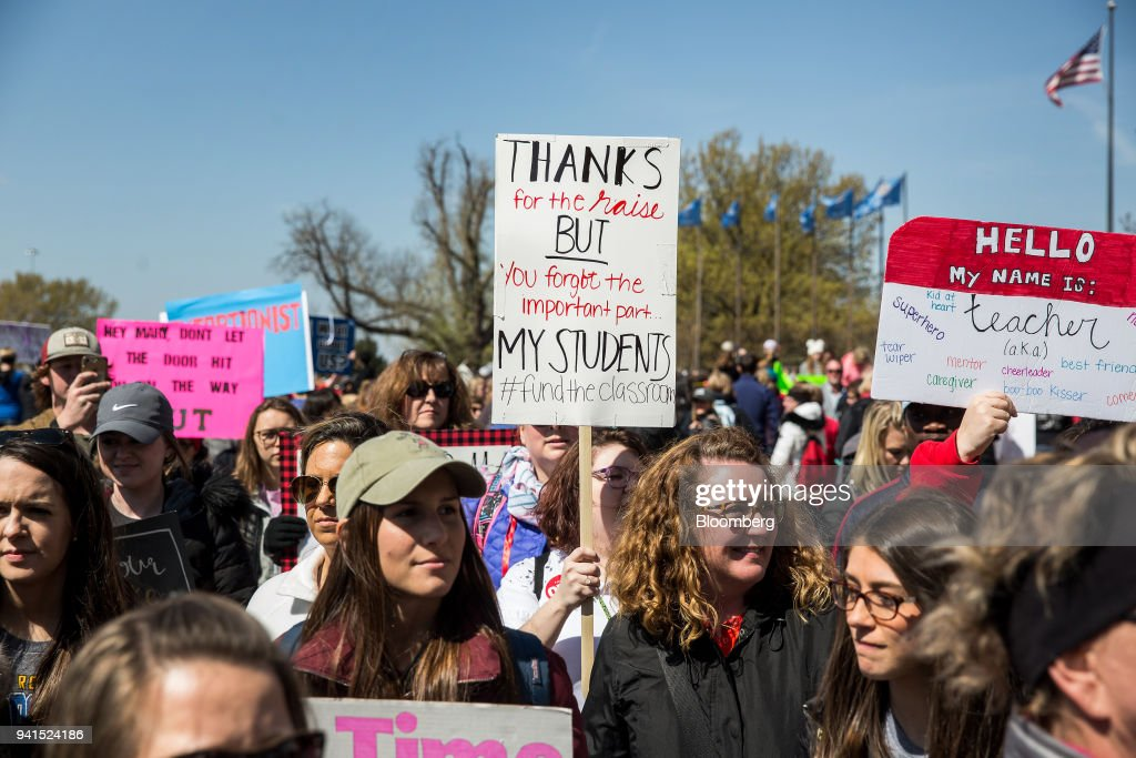 Image result for teacher strikes getty images