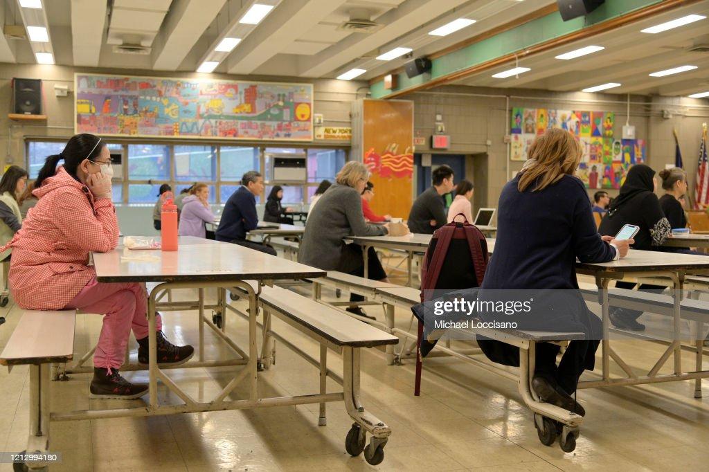 Schools Across The U.S. Close To Help Stop Spread Of Coronavirus : News Photo
