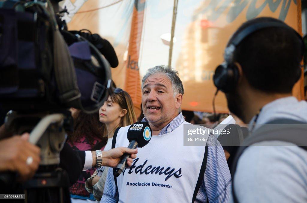 Teachers protest in Argentina