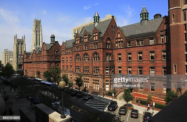 teachers college of columbia university - columbia university stock pictures, royalty-free photos & images