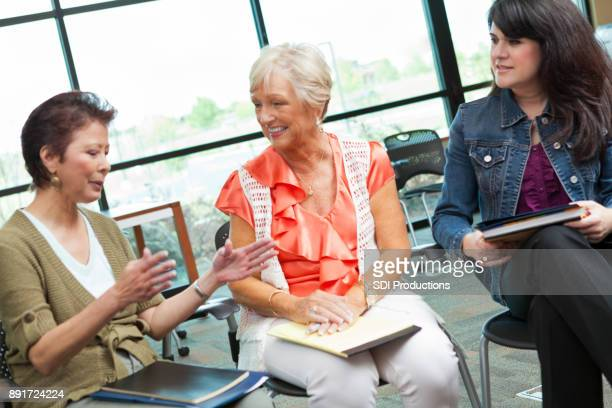 teachers participate in staff meeting - school principal stock pictures, royalty-free photos & images