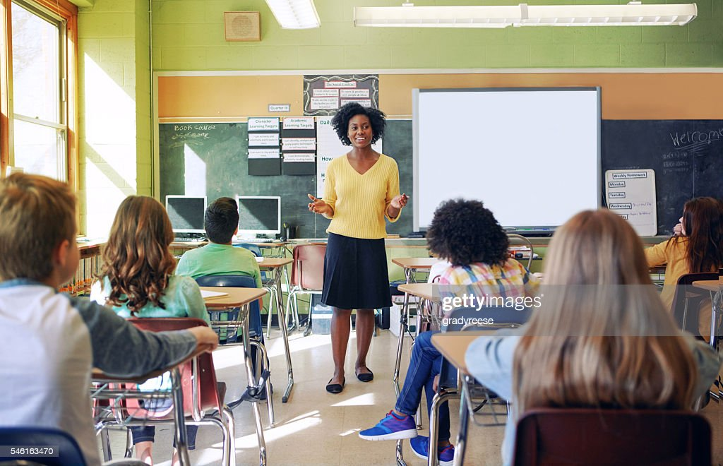 Teachers plant the seeds of knowledge that last a lifetime : Stock Photo