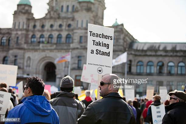 teachers taking a stand - striker stock pictures, royalty-free photos & images