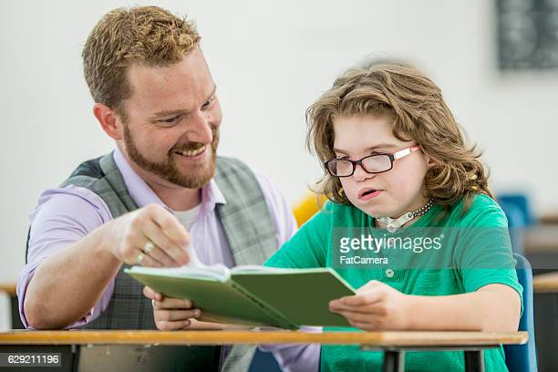 Teaching a Boy with a Learning Disability