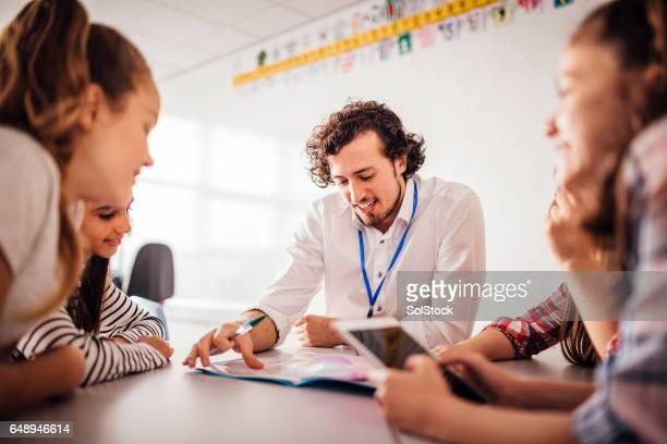 Teaching a Class of Girls