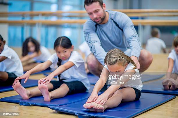 Teaching Children How to Stretch
