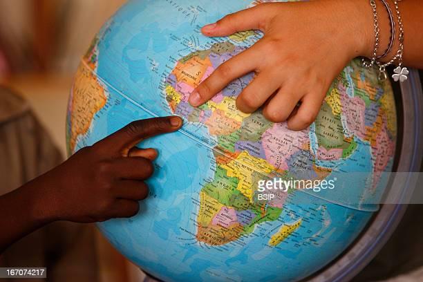 Teaching in Africa.